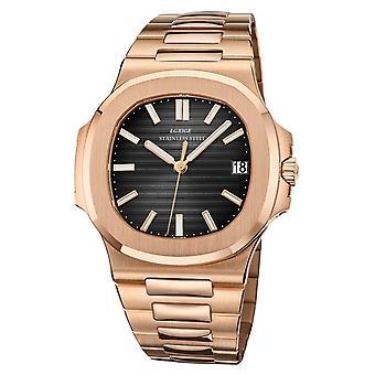 High quality fashion all steel men's quartz watch