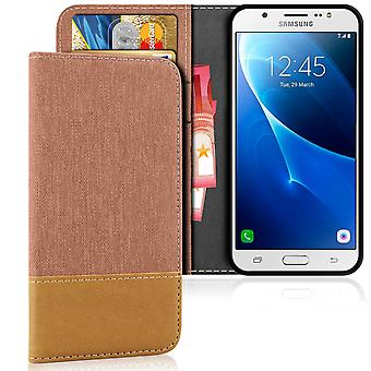 Mobile Case with Card Pocket for Samsung Galaxy J5 (2016) TPU Mobile Protection Card Holder