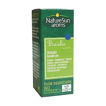 Organic basil essential oil 10 ml of essential oil