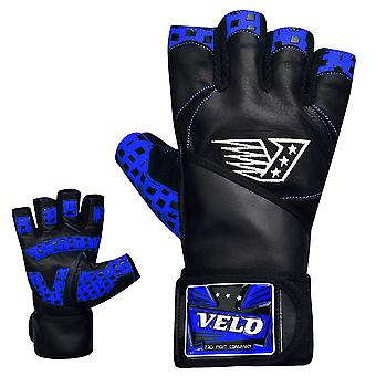 VELO B1 Leather Weight Lifting Gloves