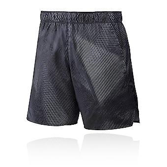 Mizuno Tryckt 7,5 tum 2 i 1 running shorts