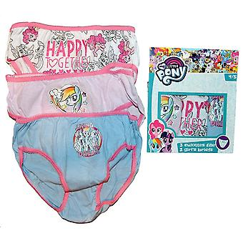 3 pairs of panties My Little Pony 4/5 years