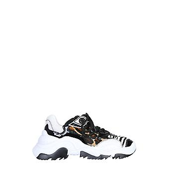 N°21 2000960096x001 Dames's Multicolor Leather Sneakers