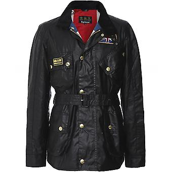 Barbour International Wax Union Jack Jacket