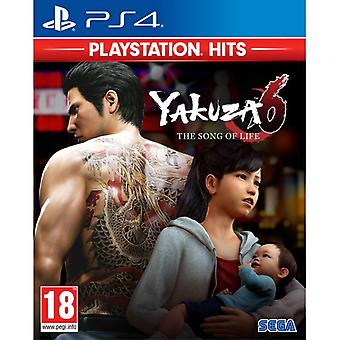Yakuza 6 The Song of Life PS4 Spiel (PlayStation Hits)