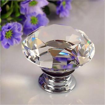 Portable,  Diamond Crystal Acrylic-furniture Handle, Pull Knobs