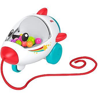 Fisher-Price Baby speelgoed rollen raket 14 cm