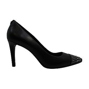 Michael Michael Kors Frauen's Schuhe Dorothy Flex Leder Cap Toe klassische Pumps