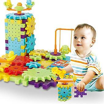 81 Stk 3d Model Building Plastic Brick Blocks - Pædagogisk legetøj til børn