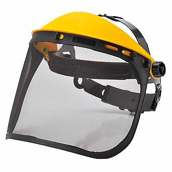 Portwest - Browguard with Mesh Visor Black Regular