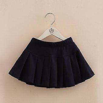 Girls Cotton Pleated Skirt Shorts- Summer Female Baby Girl Dancing Skirt Security Divided Pants