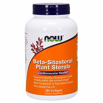 Now Foods Beta-Sitosterol Plant Sterols, 180 SOFTGELS