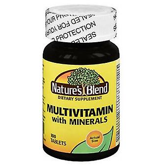 Natures Blend Multi-Vitamin With Minerals, 100 Tabs
