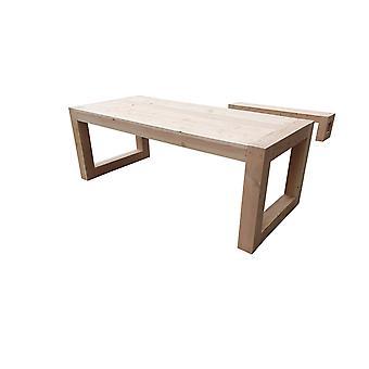 Wood4you - Gartentisch Boston Douglas 200Lx78Hx90D cm