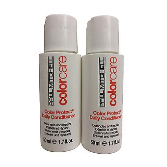 Paul Mitchell Color Care Daily Conditioner Set 1.7 OZ Chacun