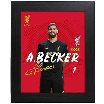 Liverpool Picture Alisson 10 x 8