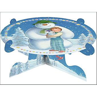 Anniversary House The Snowman & Snowdog Cake Stand M170