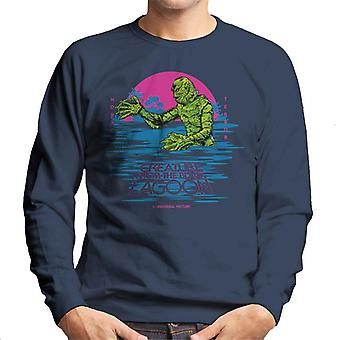The Creature From The Black Lagoon Horror Terror Men's Sweatshirt