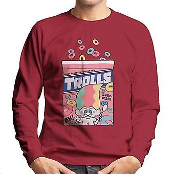 Trolls Crazy Hearts en Perfect Hair Men's Sweatshirt