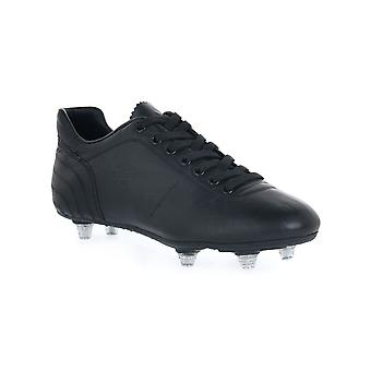 Black lazzarini gold slipper int kangaroo football shoes