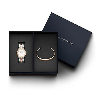 Daniel Wellington DW00500897 Iconic Lumine Watch And Bracelet Giftset
