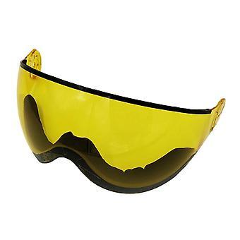 Protection uv de lentille de rechange de visière de casque de ski, casque extérieur de planche à roulettes supplémentaire