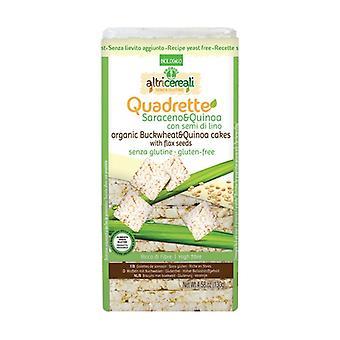 Saracen og quinoa firkanter 130 g