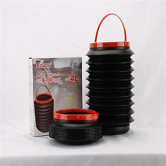 Car Storage Bin Portable Outdoor Multifunctional Folding Water Bucket