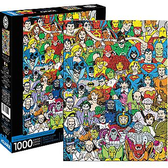 DC Sarjakuvat Retro Cast 1000 Pala Palapeli