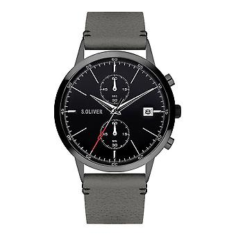 s.Oliver SO-4125-LC Men's Watch Chronograph