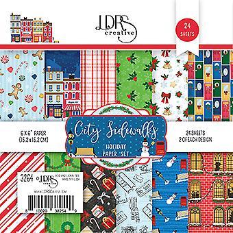 LDRS Creative City Sidewalks 6x6 Inch Paper Pack