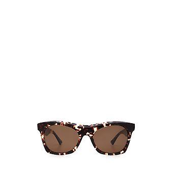 Bottega Veneta BV1061S havana unissex óculos de sol
