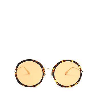 Dior DIORHYPNOTIC1 yellow havana female sunglasses