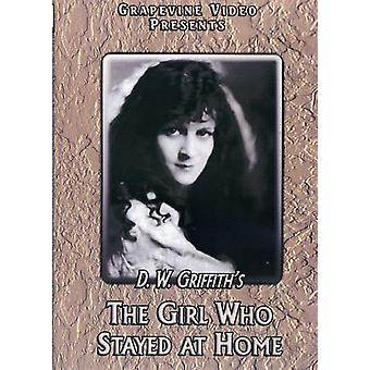 Girl Who Stayed at Home (1919) [DVD] USA import