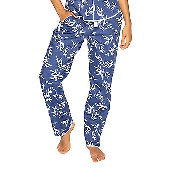 Cyberjammies Libby 4769 Women's Indigo Floral Cotton Pyjama Pant