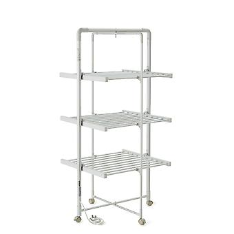 3-Tier Heated Tower Airer with Timer