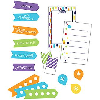 Sparkle + Shine Rainbow Planner Accents Sticker Pack, 252 piezas