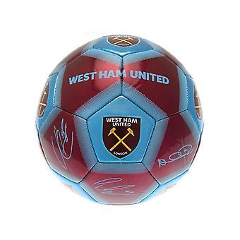 West Ham United FC Signature Football