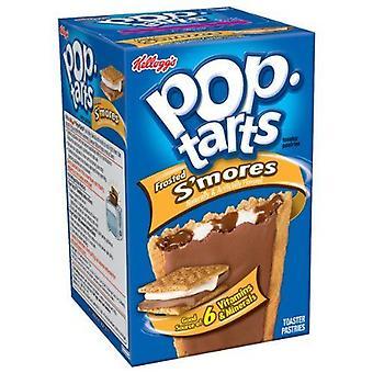 Kellogg's Pop Tarts Frosted Smores Toaster Pastries 14.7 oz Box