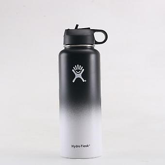 Tumbler Flask Vacuum Insulated, Stainless Steel, Water Bottle, Wide Mouth,