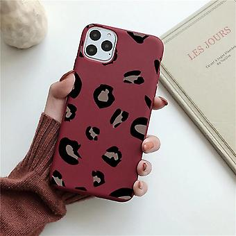iPhone 12 Pro Max Shell leopard pattern in several colors yellow red pink