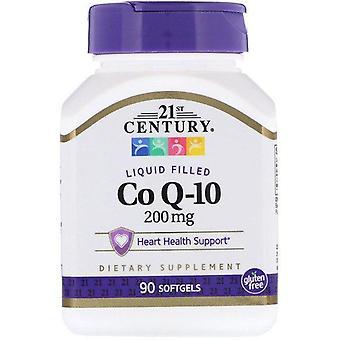 21st Century, Liquid Filled CoQ-10, 200 mg, 90 Softgels