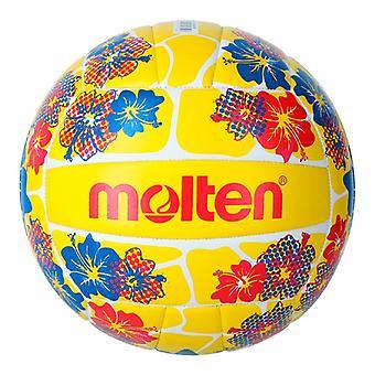 Beach Volleyball Ball Molten V5B1300 Jaune (Taille 5)
