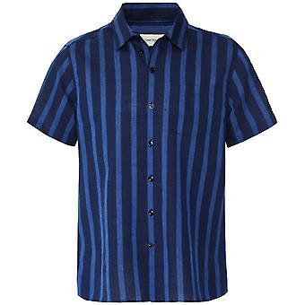 Oliver Spencer Short Sleeve Striped Hawaiian Shirt