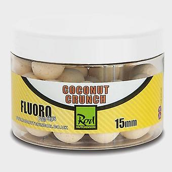New R Hutchinson Fluoro Pop Ups 15mm, Coconut Crunch White