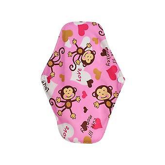 Állítható újrahasználható vízálló lágyabb kényelmes bugyi bélés ruhával menstruációs
