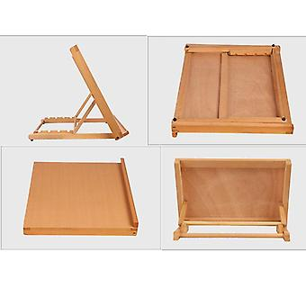 Portable Sketch Easel, Wooden Desktop, Artist Tabletop, Drawing Board, Stand