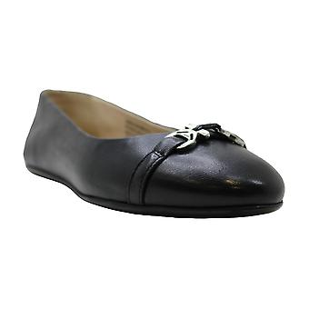 Kenneth Cole Womens Gale Kc Leather Closed Toe Ballet Flats