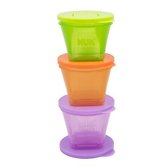 Nuk stackable food pots 6pk