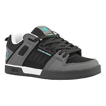 DVS Comanche Shoes - Black / Charcoal / Turquoise